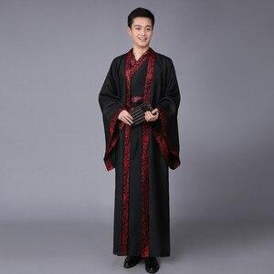 Image 5 - Do chińskiego narodowego kostiumu dynastii Hanfu Qin wiosną i jesienią walczące królestwa oficjalna służba dynastia han odzież sportowa