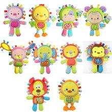 Детские милые животные Kawaii плюшевые погремушки и мобильные игрушки для 0-12 месячный ребенок подарок спальный мате