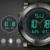Sinobi relojes de pulsera digital deportes hombres del cronógrafo correa de caucho impermeable ginebra marca hombre militar reloj de cuarzo 2017