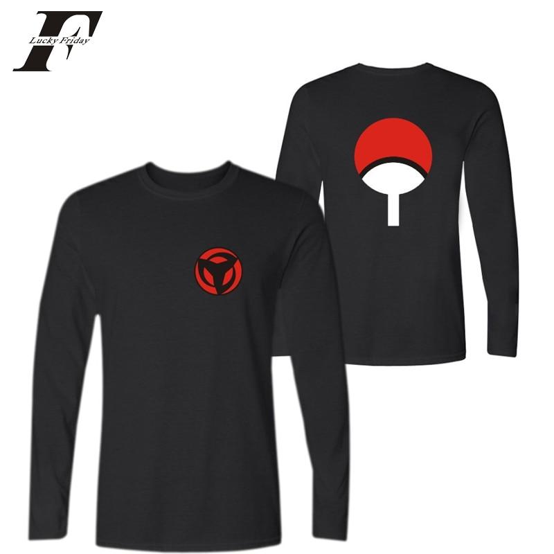 2017 harajuku Uchiha Syaringan font b fitness b font T shirt Hokage Ninjia Funny T Shirts