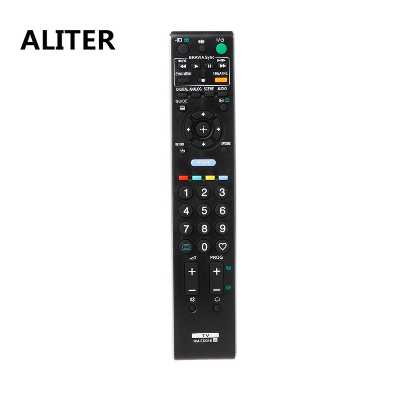 ALITER Universal Television Remote Control Replacement All Functions For Sony TV RM-ED016
