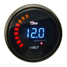 "2 ""52 MM Auto CAR LED Digital Analog Tensión Volt Gauge Meter"