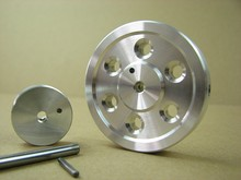 Flywheel inertia wheel DIY Stirling engine parts the Free wheel one pair