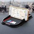 Goma de buena calidad M peroformance M emblema del coche antideslizante del coche del teléfono E40 soporte telefónico para BMW E36 E46 E60 E70 E90 F30 F25 F10