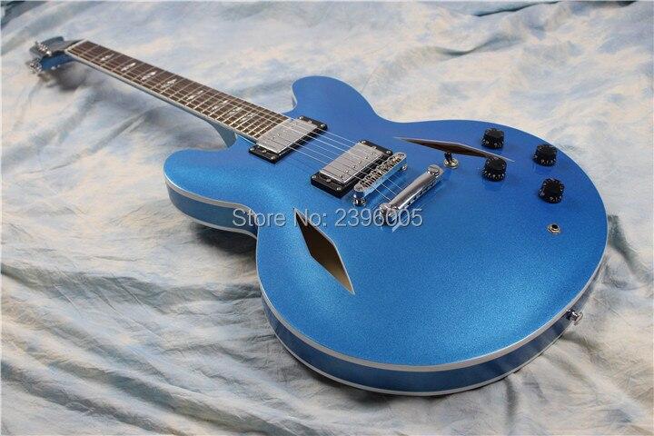 Nouvelle arrivée Custom shop Dave Grohl guitare électrique, semi corps creux. ES 335 Jazz guitare, creux électrique guitare, DG 335 veison