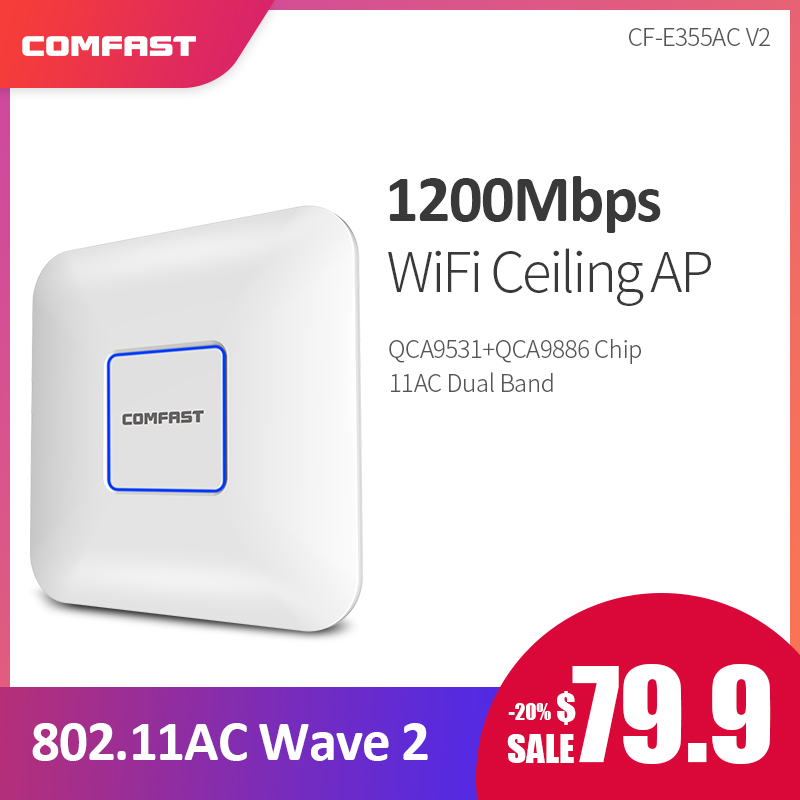 1200Mbps High Power 2.4Ghz+5.8G Wifi Router Wireless Indoor Ceiling AP Signal Booster WIFI Expander Repeater RJ45 PoE Adatper1200Mbps High Power 2.4Ghz+5.8G Wifi Router Wireless Indoor Ceiling AP Signal Booster WIFI Expander Repeater RJ45 PoE Adatper