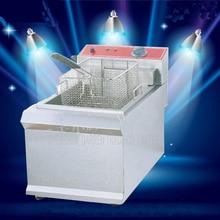 1PC FY 903 Commercial Single cylinder Open Fryer Chicken Frying Equipment Commercial Deep Fryer