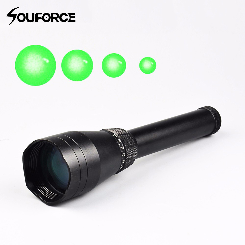 New Adjustable Night Vision Green Dot ND3x50 Subzero Green Laser Designator Zoomable W/Scope Mount for Rifle Hunting цена и фото