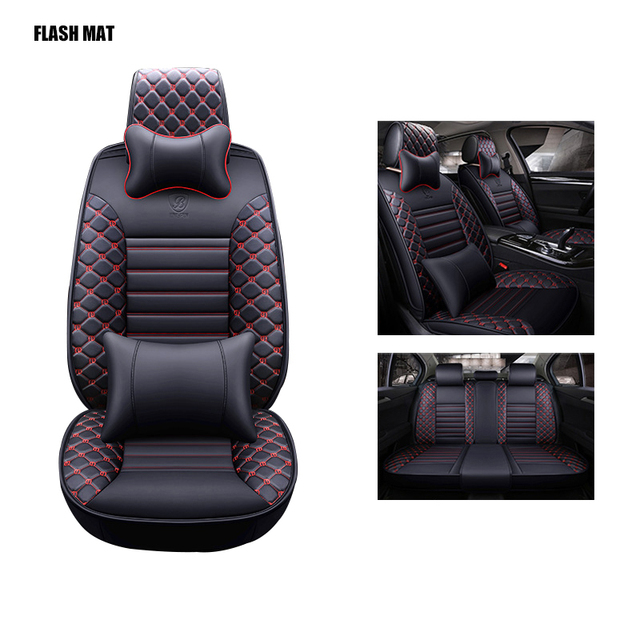 Universal car seat covers for vw polo accessories vw polo 6r 9n vw passat b5 passat b6 passat b7 b8 vw golf 5 6 7 accessories