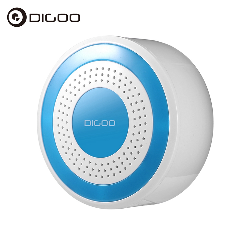 Digoo DG-ROSA 433MHz Wireless DIY Standalone Alarm Siren Multi-function for Smart Home Automation Systems