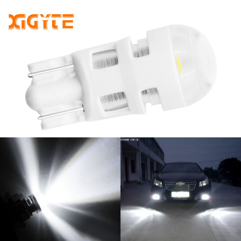 License Plat e 3D Ceramic Reading Bulb T10 LED W5W 3030 SMD Car Width Light