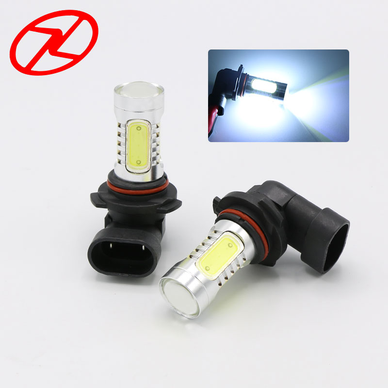 2pcs 9005 HB3 LED Lumina de ceață LED 7.5W Putere albă Lampa de - Faruri auto
