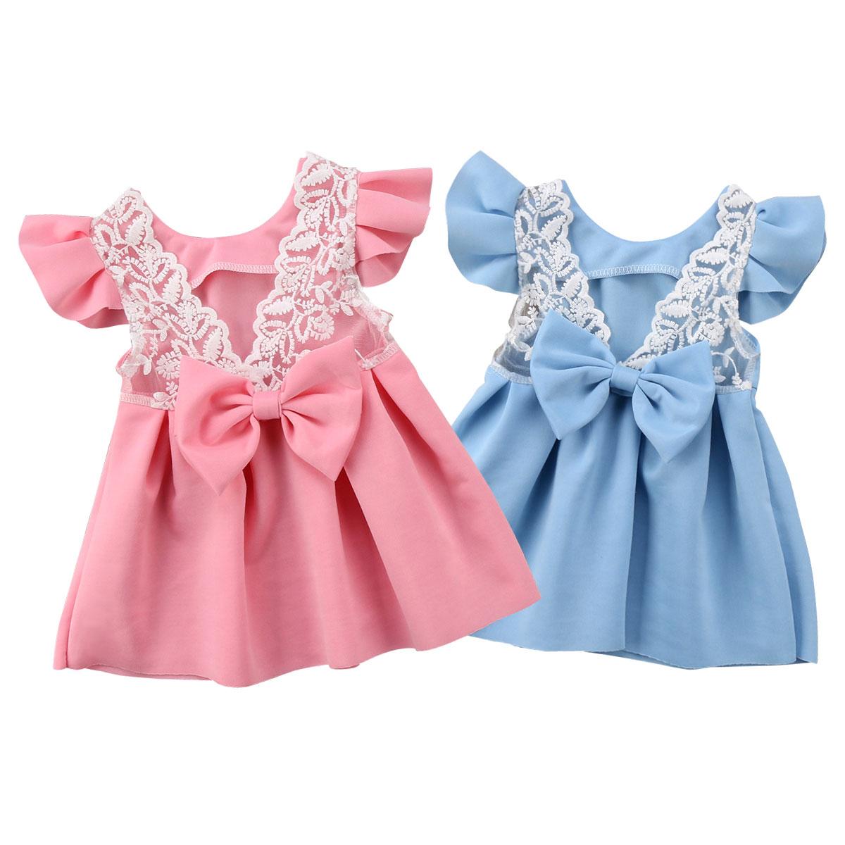 Infant Neugeborenen Baby Mädchen Kleid Prinzessin Spitze Tutu Party Hochzeit Urlaub Kleider Für Baby Mädchen Sommer Kleinkind Baby Kostüme