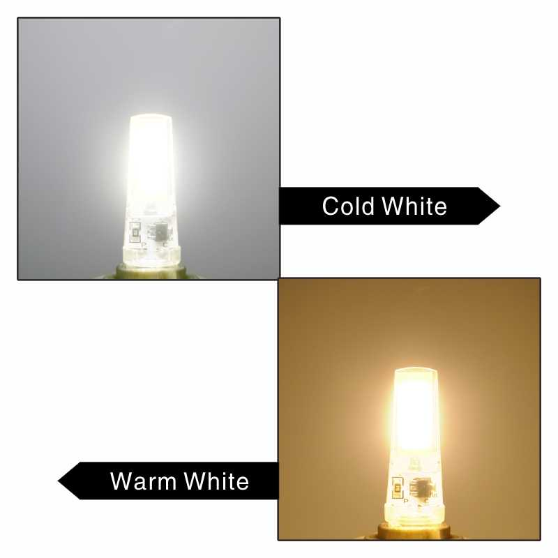 LED G4 G9 E14 Lampu Bohlam AC/DC Peredupan 12 V 220 V 3 W 6 W 9 W tongkol SMD LED Lampu Mengganti Lampu Sorot Halogen Lampu Gantung