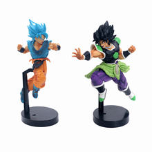 Dragon Ball Z Brolly Super Saiyan Broly Ultimate Soldiers Filme Ver. PVC Modelo Figura de Ação DBZ Goku Vegeta Combate 24 cm(China)