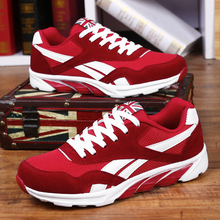 Outdoor spring Men Shoes Running Flat Sports comfortable Walking jogging Sneakers Athletics For Adults