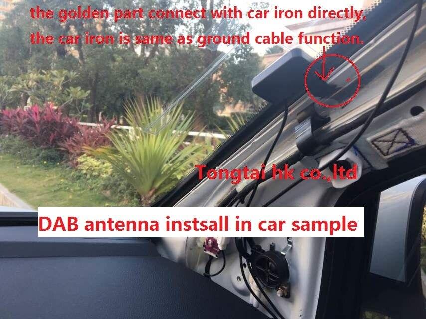 Boîtier externe DAB +, récepteur de radio numérique europea boîte de réception de radio numérique pour android dvd de voiture de la société Tongtai