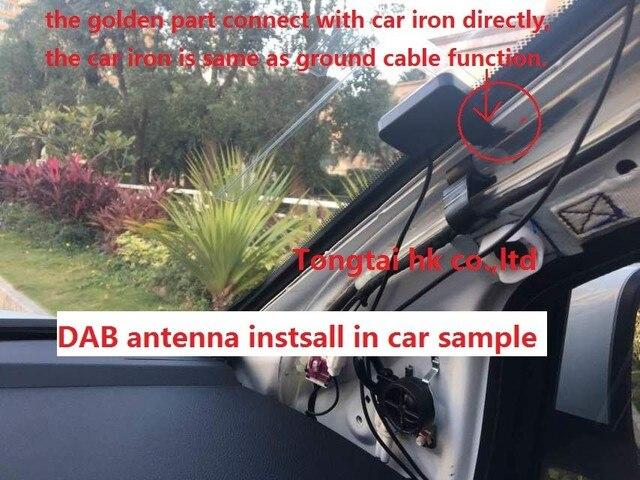 חיצוני DAB + תיבה, מקלט רדיו דיגיטלי ארופה רדיו דיגיטלי לקבל box עבור אנדרואיד dvd לרכב מחברת Tongtai