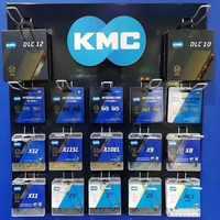 Kmc X12 X8 X9 X9sl X10 X10sl Kmc Catena X11SL Della 9 S 10 S 11 S Oro per Mtb /Bici Della Strada per Sram 8 9 10 11 Velocita 116L Catena