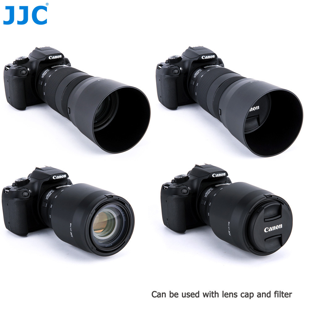 JJC EF 70-300mm Lens Hood 67mm Thread DSLR Camera for Canon EF 70-300mm f/4-5.6 IS II USM Lens Replaces Canon ET-74B(LH-74B)