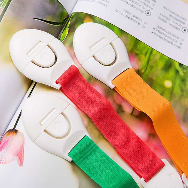 4Pcs/lot child lock protection of children refrigerator drawer lock blockers for the safety children cabinet lock drawer latches