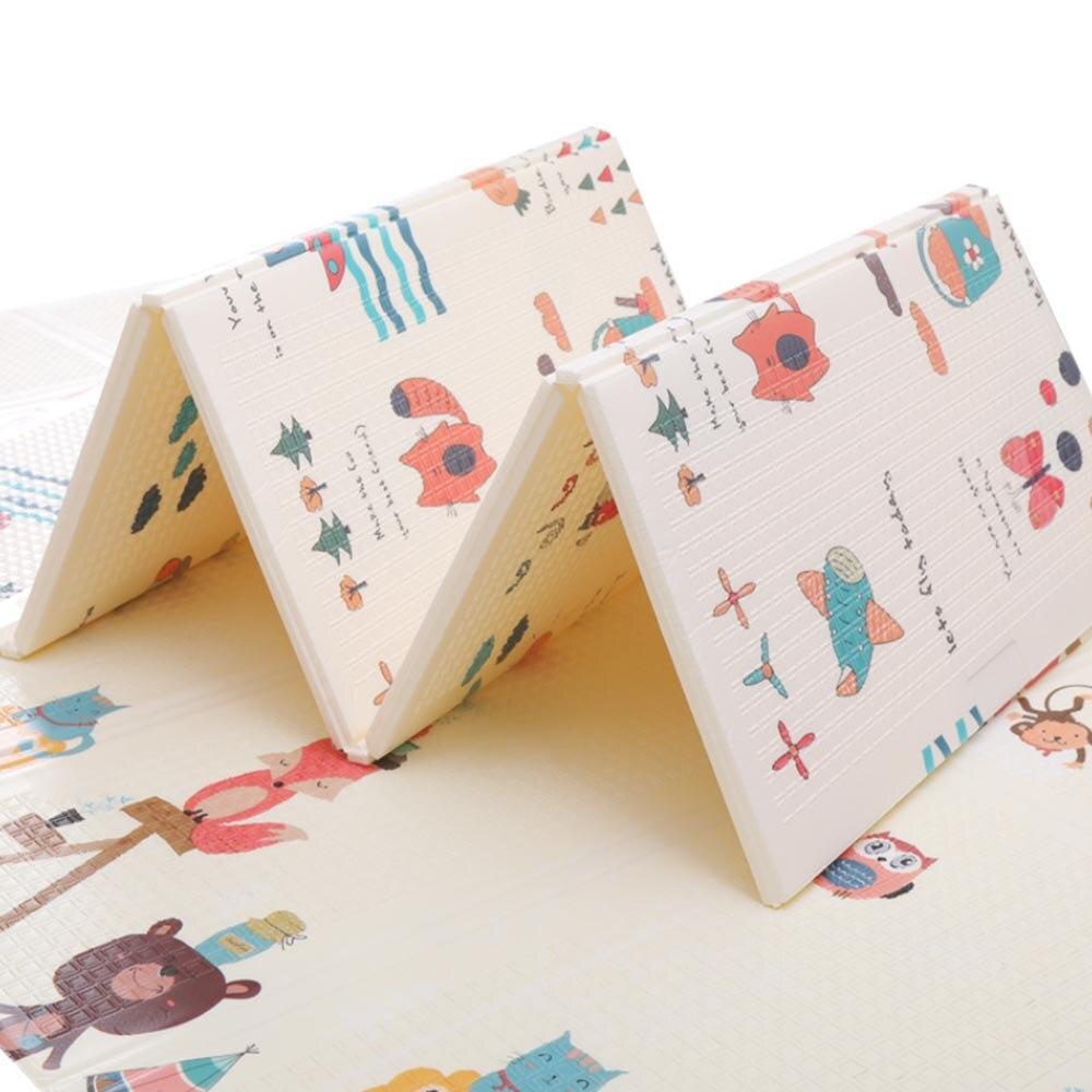155*200*1 cm tapis de jeu pour bébé Xpe Puzzle tapis pour enfants épaissi Tapete Infantil bébé chambre ramper tapis pliant tapis bébé