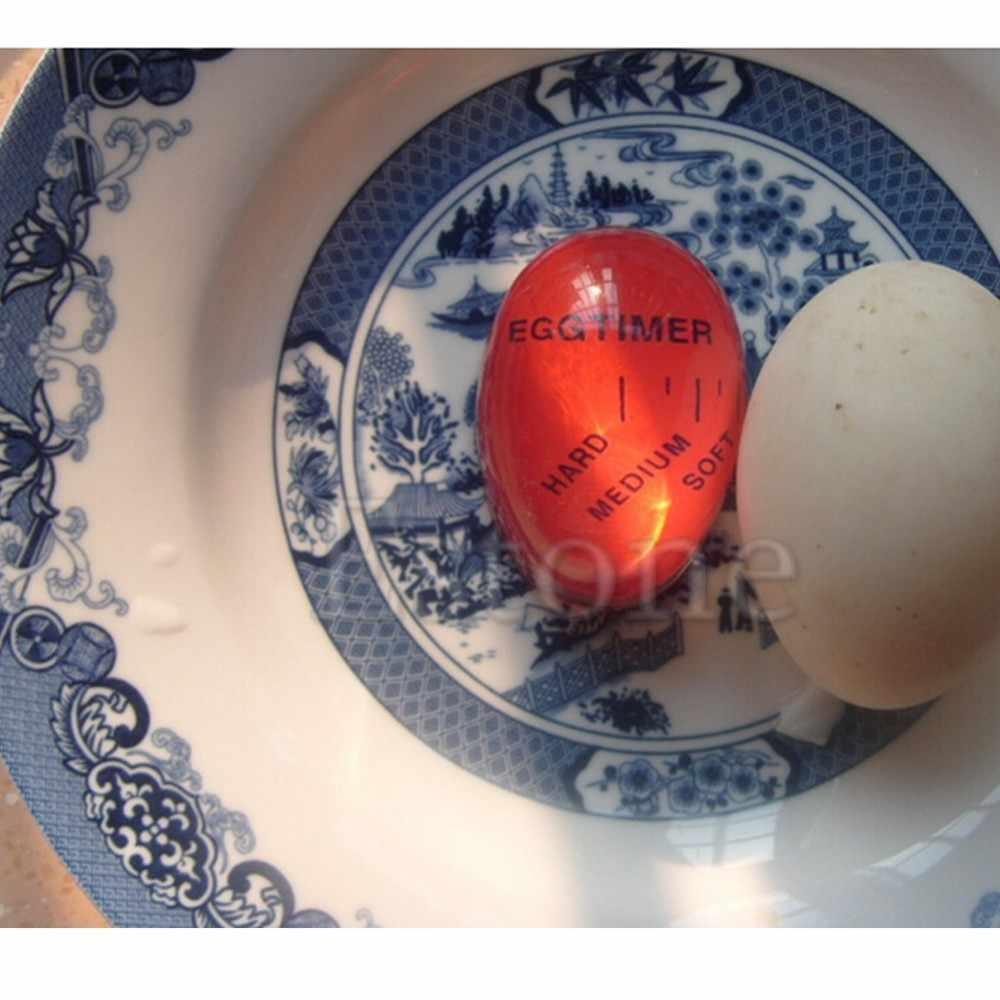 1pc oeuf parfait couleur changeante minuterie délicieux doux dur oeufs durs cuisson cadran oeuf minuterie
