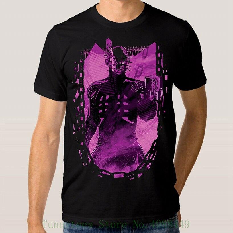 Hellraiser Horror Movie T Shirt Men's Women's New Cotton Tee Xs - 3xl T Shirts Casual Brand Clothing Cotton
