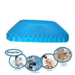 Massage Breathable Mesh Gel Auto Car Seat Covers Egg Sitter Support Cushion Gel Cushions Office Fatigue Cushions Seat Cushion