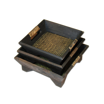 Gift Set Homeplan Maitreya ebony wood ornaments and home decor gifts Redwood crafts