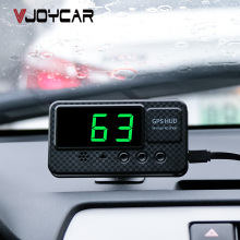 Универсальный Hud gps измеритель скорости дисплей скорости автомобиля с сигнализацией скорости MPH км/ч для всех автомобилей A100 обновление