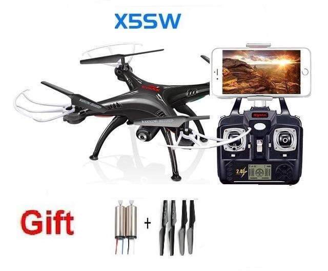 Ewellsold X5SW WIFI RC Drone FPV Quadcopter with HD Camera Headless 6-Axis Real Time RC Quad copter