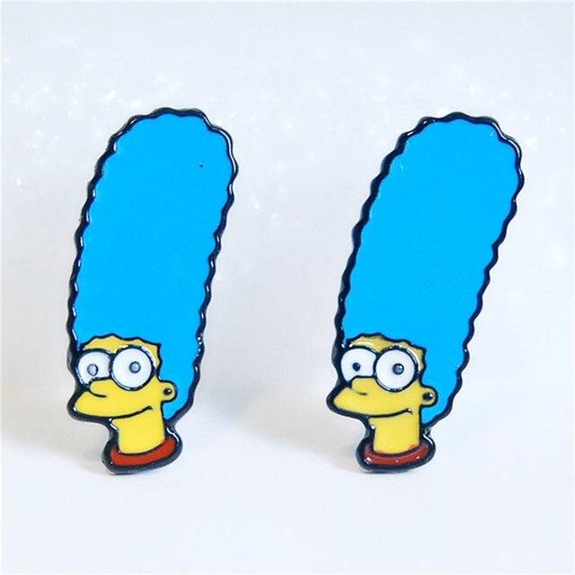 Сережки Симпсоны в ассортименте 3