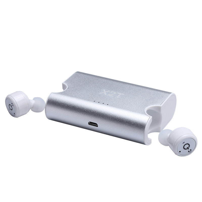 Mini Bluetooth Headset with Microphone and Charging Case Noise Cancelling Earphones for Sony Xperia Tablet Z Tablet
