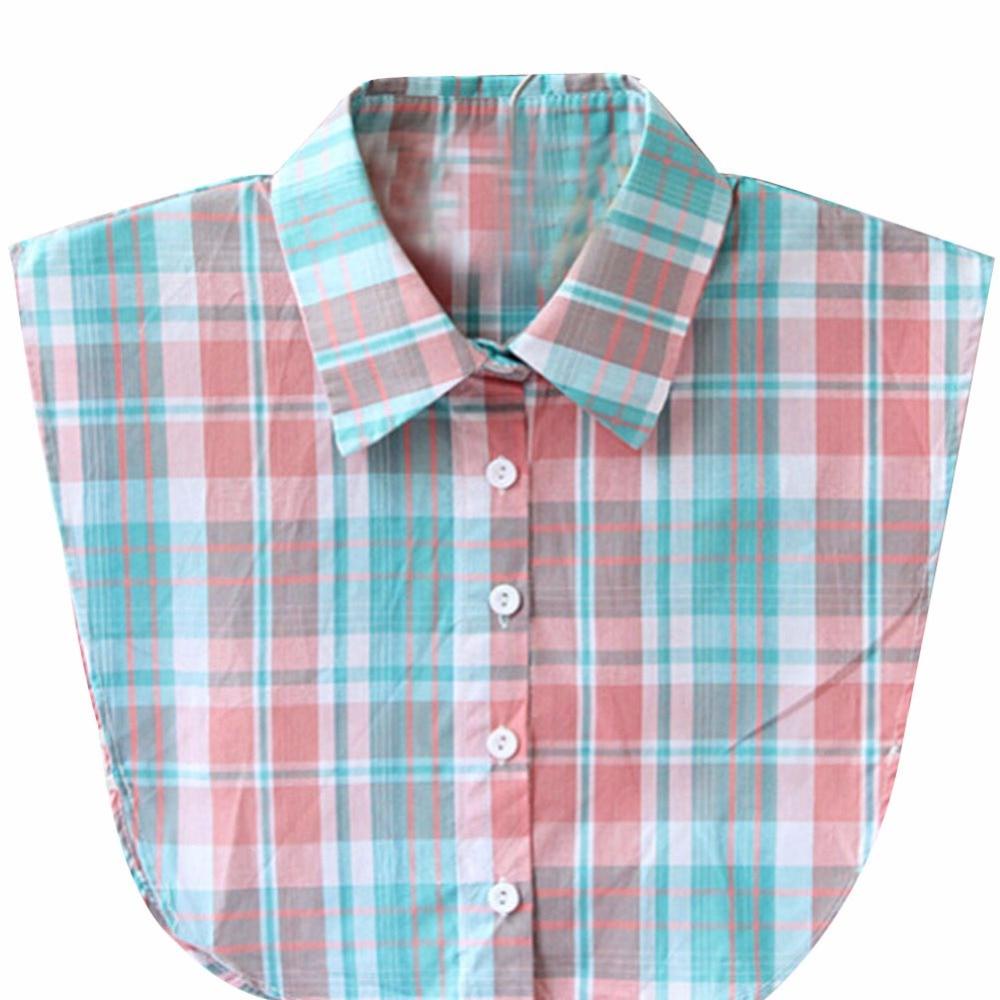 High Quality 9 Styles Unisex Women Detachable Lapel Shirt Fake False Collar Choker Necklace Wholesale