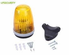LPSECURITY garage sliding swing gate motor flashing light lamp bulb blinker safety lamp(no sound)