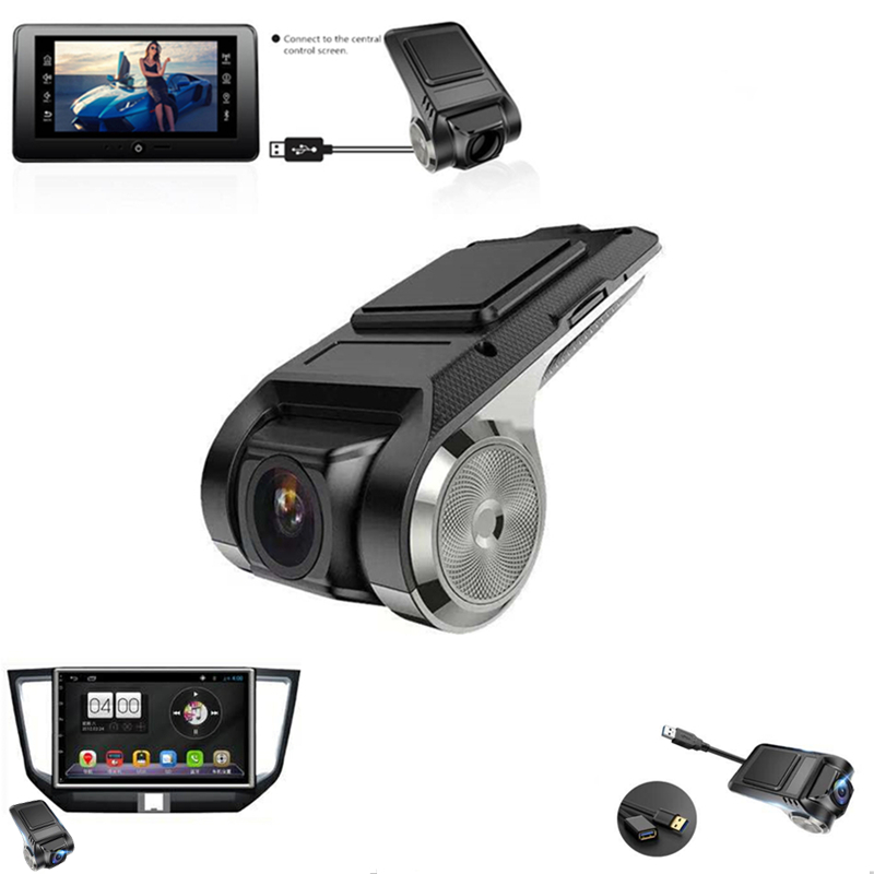 Camera Dvd-Player Usb Dvr Motion-Detection ADAS Android G-Sensor Car HD 1 For Sd-Card