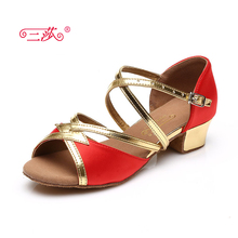 Sasha direct selling professional High Quality Latin Dance Shoes Economic Shoes Ballroom Salsa Tango dance shoes kids 106