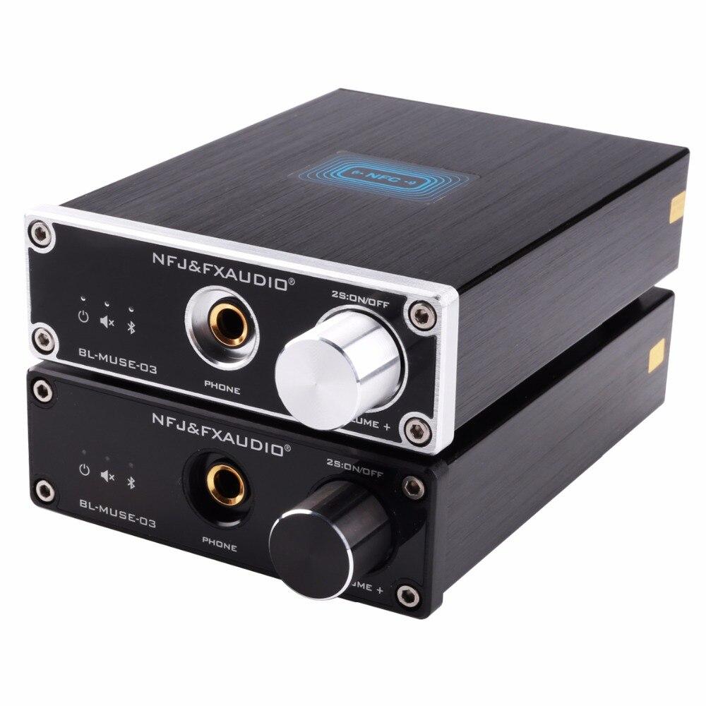 FX-Audio bl-muse-03 Bluetooth 4.2 csra64215 аудио Receiver ЦАП декодирования без потерь мини hifi звук Качество наушников из Усилители домашние