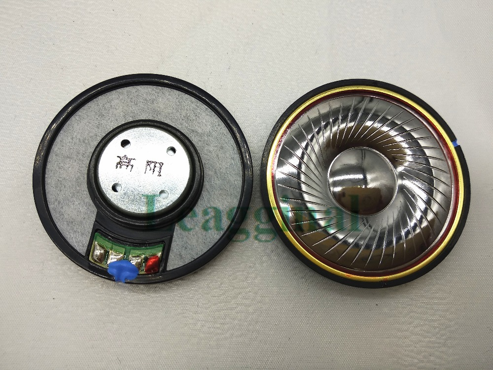 50mm speaker unit Plated beryllium unit High Analyze 32ohms/300ohms 1pair=2pcs