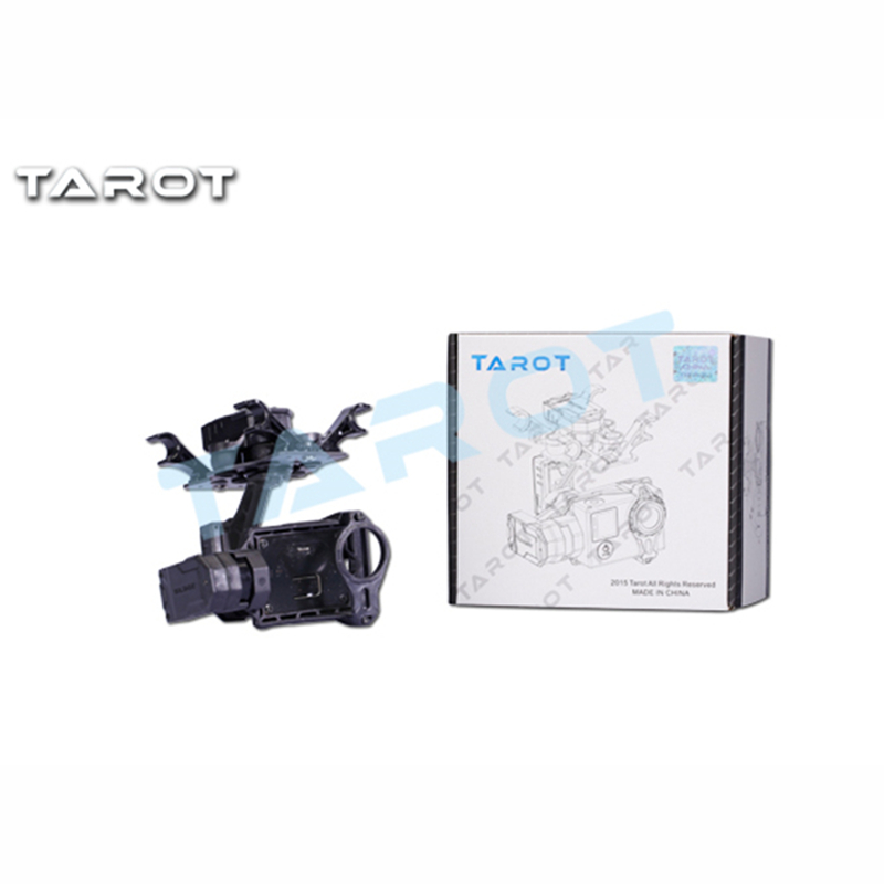 Tarot-RC TL3D01 T4-3D 3-axis Brushless Gimbal for GOPRO GOPRO4/GOpro3+/Gopro3 FPV Photography tarot tl3t01 update from t4 3d 3d metal 3 axis brushless gimbal for gopro 4 3 for gopro3 fpv photography f17391