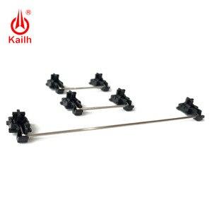 Image 4 - Kailh piastra montata stabilizzatori cassa nera per 1350 Cioccolato Interruttori Tastiere Meccaniche 2u 6.25u