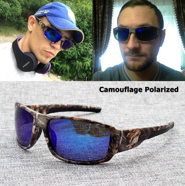 587fd1ea20552 JackJad Moda Camuflagem Dos Homens Novos de Condução Pesca Óculos  Polarizados Óculos de Esportes Ao Ar