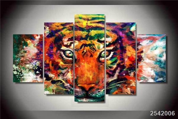 Hd Printed Abstract Tiger Painting On Canvas Room Decoration Print Poster Picture Canvas Free Shipping/Ny-2153 Christmas gift