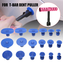 1set Paintless Dent Repair T-Bar Puller Slide Reverse Hammer 18pcs Glue Pulling Pads Tabs Suction Cup For Removal