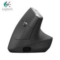 Новейшая logitech оригинальная беспроводная Вертикальная мышь MX Вертикальная Эргономичная лазерная Bluetooth и Unifying 4000 400 dpi перезаряжаемые мыши