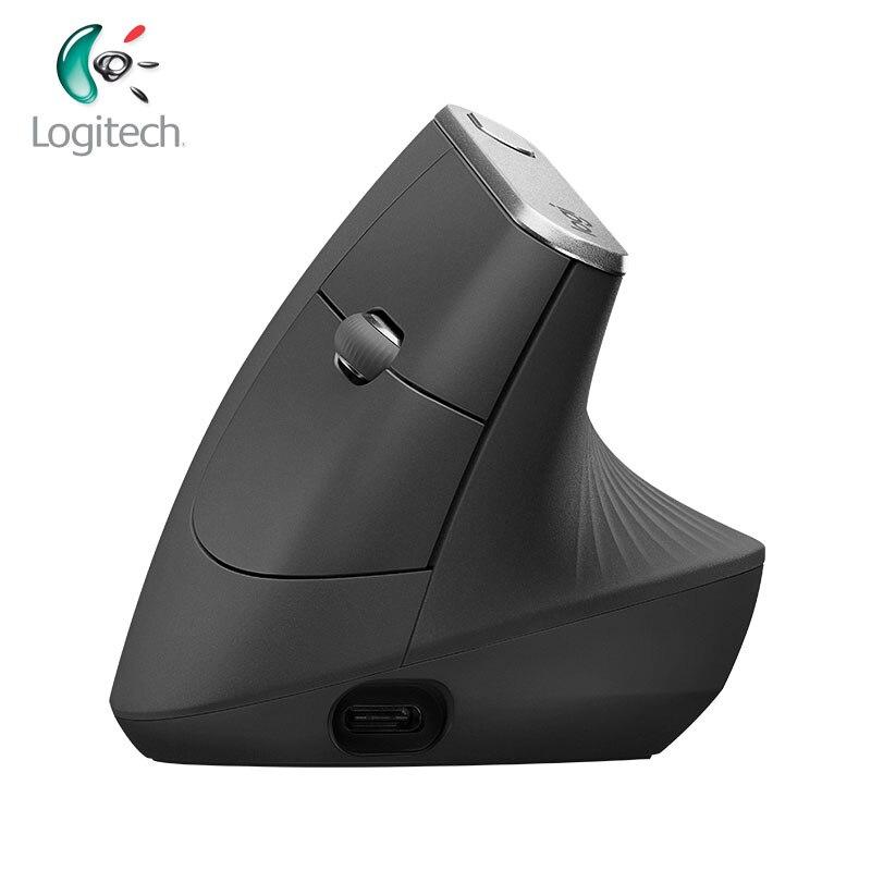 La plus nouvelle souris verticale sans fil originale de Logitech MX Laser ergonomique Vertical Bluetooth et unifiant les souris rechargeables de 400-4000 DPI