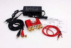 Image 3 - 50W X2 F900 Bluetooth alıcısı dijital elektrikli ses yükseltici Hifi Stereo güç AMP güç adaptörü ile
