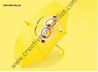 Baby expression umbrella,children umbrella 8mm steel shaft & fiberglass ribs,Environment protection,animal kid umbrellas