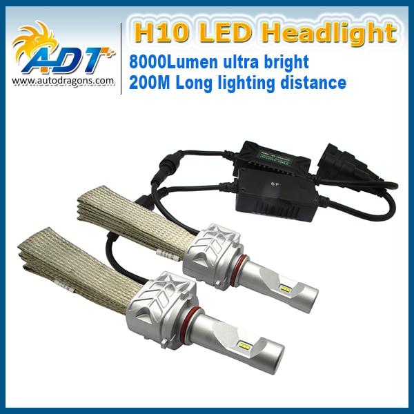 Canbus sans erreur conception sans ventilateur G5NS PH 9007 voiture phare LED salut phare LED bas s 8000LM DC12-24 V pour hummer H2